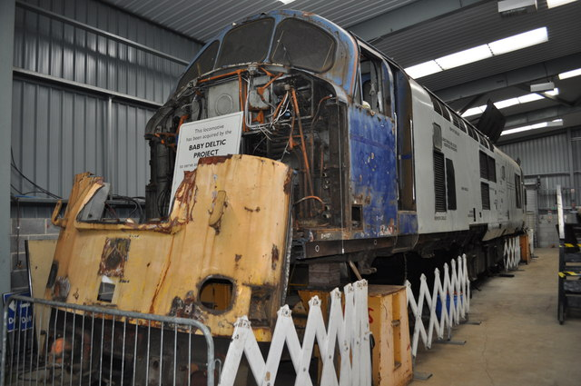Baby Deltic Project 169 Ashley Dace Geograph Britain And