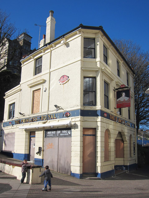 The Princess Royal, Folkestone