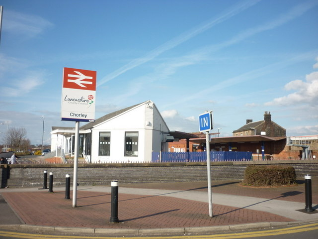 Chorley train station