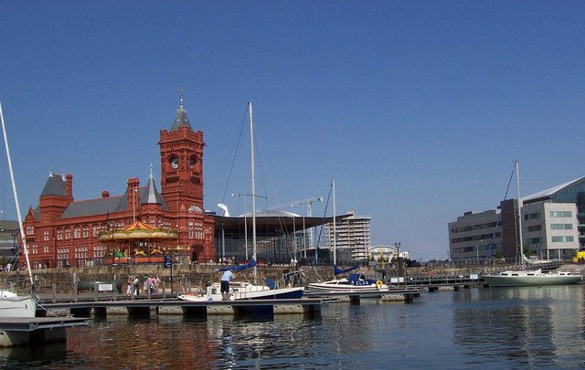 Pierpoint Building on Cardiff Bay