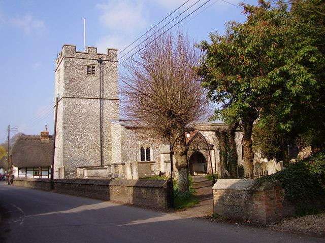 st  mary bourne  church  u00a9 dr neil clifton    geograph