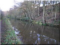 SJ9168 : Macclesfield Canal towards Fools Nook by Peter Turner