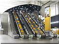 TQ3780 : Escalators at Canary Wharf station : Week 11