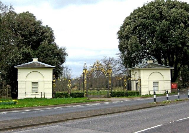 Clandon Parks Golden Gates Merrow C P L Chadwick Geograph
