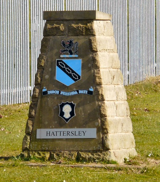 Hattersley Boundary Stone