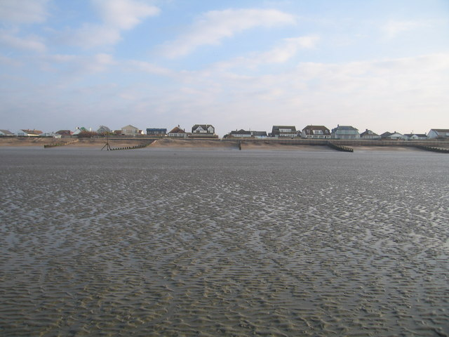 Seafront at the end of Cullimore Road, West Wittering