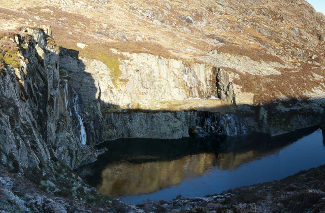 Frozen Quarry Pool