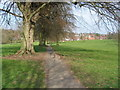 SP2872 : Footpath, Abbey Fields by E Gammie