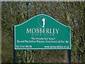 SJ8181 : Sign for Mobberley Golf Club by Anthony O'Neil