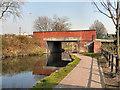 SJ6699 : Bridgewater Canal, Butts Bridge by David Dixon