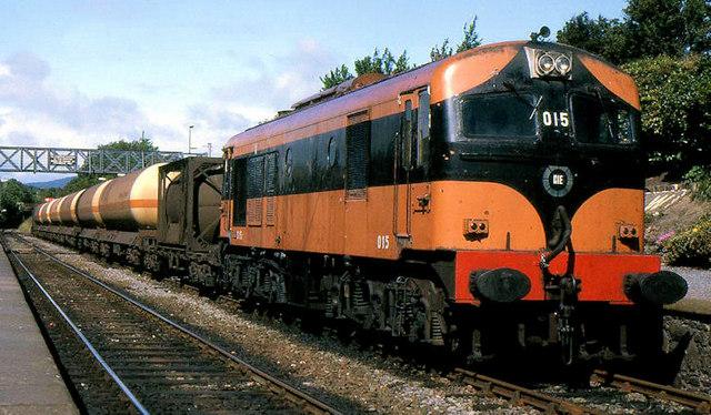 Ammonia train, Wicklow