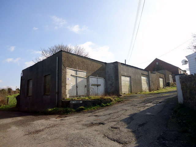 Old bottling works, Plas-y-fron