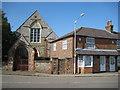 SU8091 : Lane End: Former Wesleyan Church and former bakery by Nigel Cox