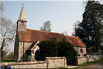 SU5349 : Hampshire:  Church of the Holy Trinity and St. Andrew, Ashe by Dr Neil Clifton