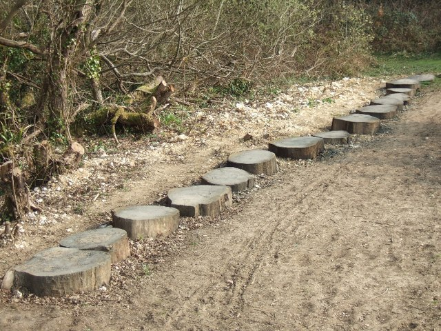 Wooden Stepping Quot Stones Quot 169 David Smith Cc By Sa 2 0