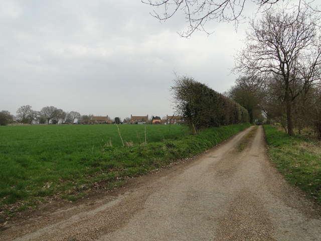 Housing off Mill Road, Marsham