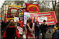 TQ2880 : TUC demonstration against the cuts, 26 March 2011 : Week 13