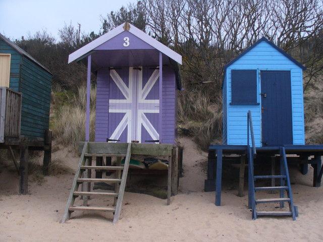 Union Jack Beach Hut  U00a9 Colin Smith Cc 2 0