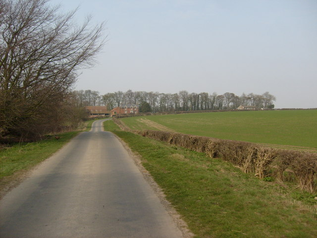 Road to Lairhill Farm