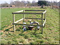 TM3760 : Water Pump next to footpath by Adrian Cable