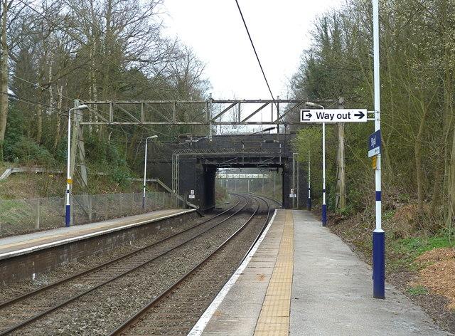 Styal railway station, Cheshire