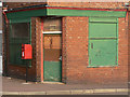 SK5467 : Closed shop on the corner of West Street by Alan Murray-Rust