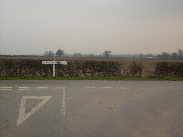Beswick Heads Junction
