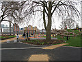 TQ3678 : Improved park in Deptford by Stephen Craven