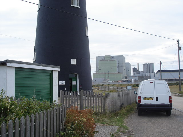Dungeness Lighthouse and Nuclear Power Station