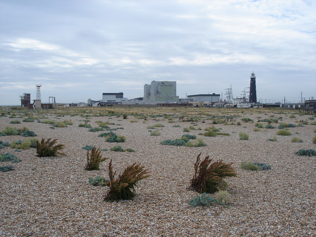 Dungeness Nuclear Power Station and Lighthouse