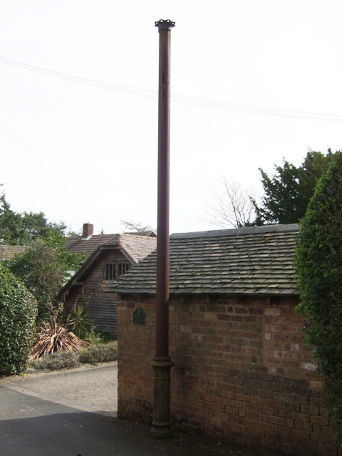 Sewer vent pipe john m geograph britain and ireland for Outside waste pipe