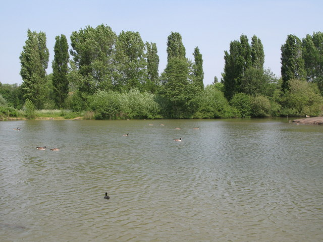Lake in South Norwood Country Park (9)