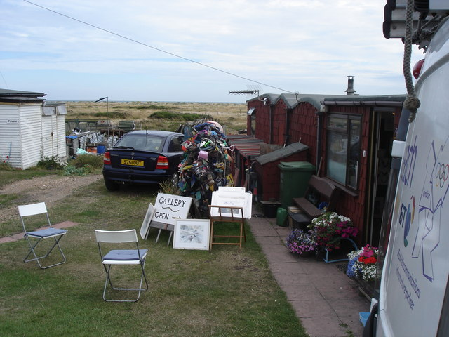 Dungeness - an art gallery