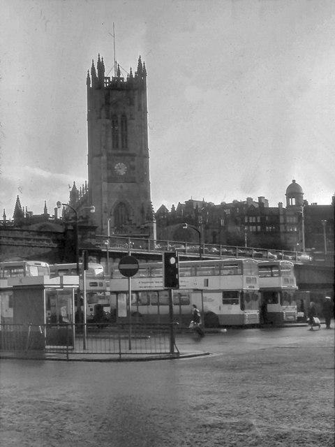 Salford Bus Station (1978) © David Dixon cc-by-sa/2.0 ...