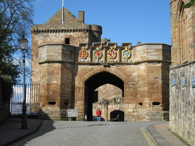 Fore Entrance to Linlithgow Palace