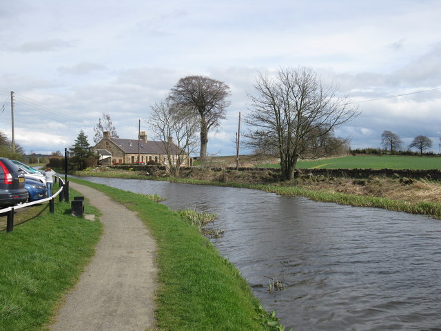 Union Canal near Park Farm, Linlithgow