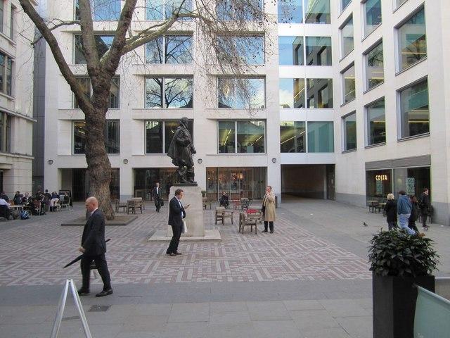 Bow Churchyard, off Cheapside