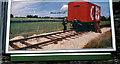 "J3474 : ""Kit Kat"" railway poster, Belfast by Albert Bridge"