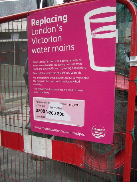 Replacing London's Victorian Water Mains