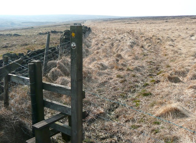 Path up Noah Dale, Heptonstall