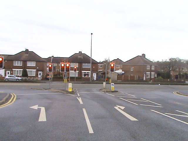 Traffic Light Junction Agecroft Road Anthony Parkes Cc