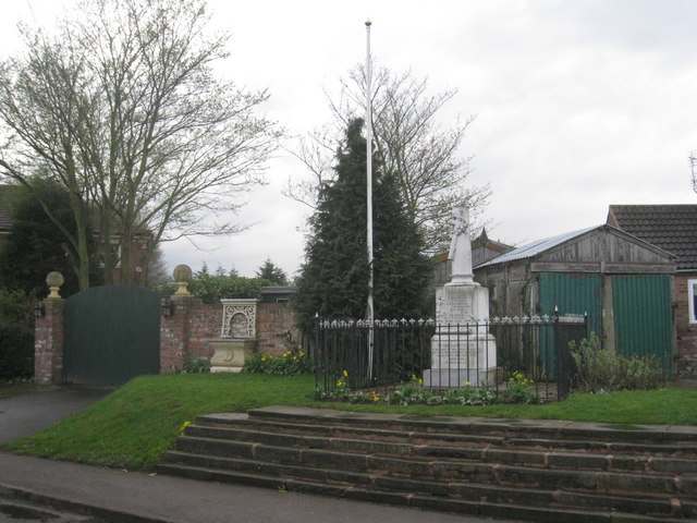 The War Memorial, Wroot