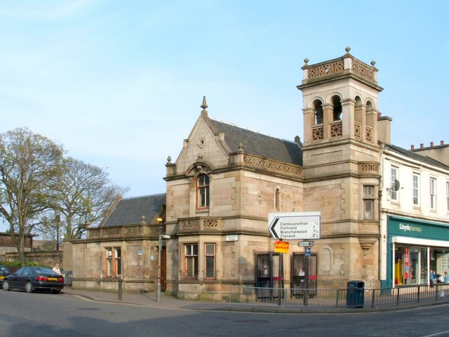 The former Coltness Gatehouse