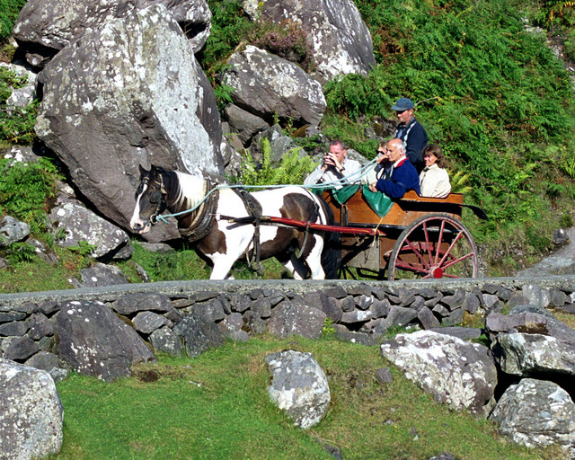 Jaunting Cart in the Gap of Dunloe