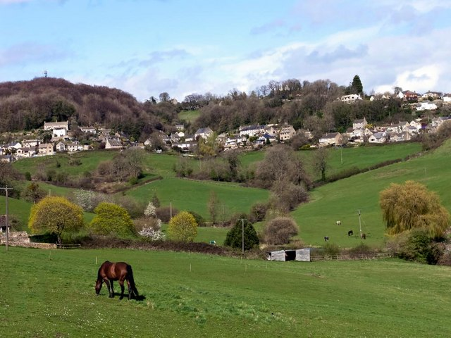 Whiteshill and Ruscombe from Bread Street