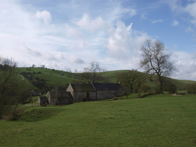 Crowtrees farm in spring