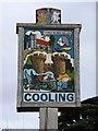 TQ7575 : Cooling: the village sign by Stefan Czapski
