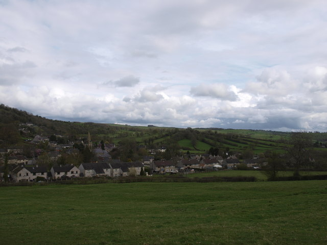 A view of Parwich