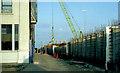 J3475 : Weir and cross-harbour links, Belfast (26) by Albert Bridge
