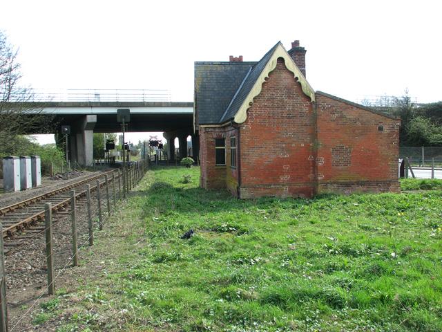 Old GER crossing keeper's cottage, East Dereham